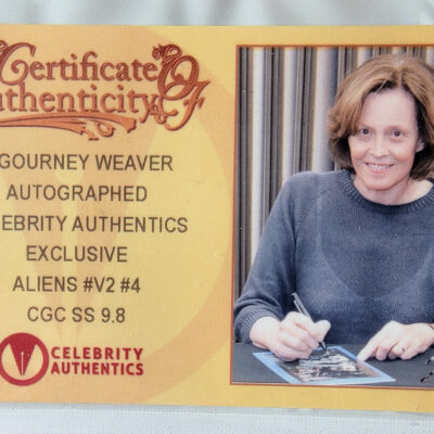 Aliens 4 – Signed by Sigourney Weaver