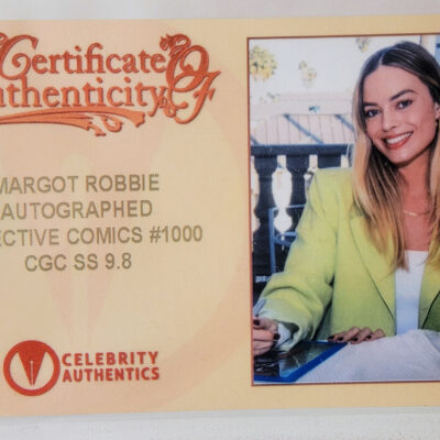 Detective Comics 1000 – Virgin Variant Cover – Signed by Margot Robbie