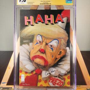 Haha 1 Trump Cover