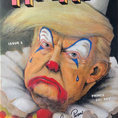 HAHA 1 – Trump Clown Cover – Signed by Casey Parsons