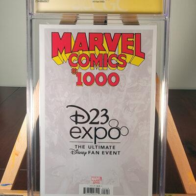 Marvel Comics 1000 – D23 Disney Expo Edition – Signed by Humberto Ramos